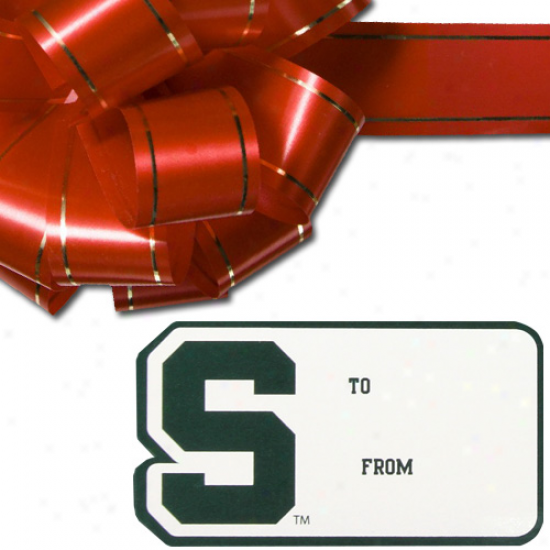 Michigan State Slartans 3-pack Team Gift Tag Sheets