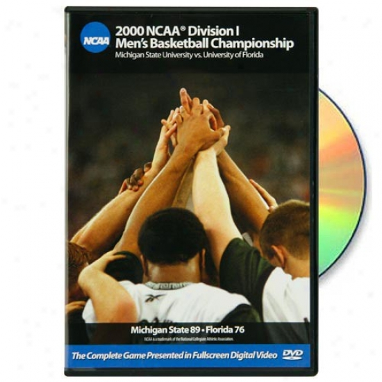 Michigan State Spartans Vs. Florida Gators 2000 Ncaa Division I Men's Basjetball Championship Game Dvd