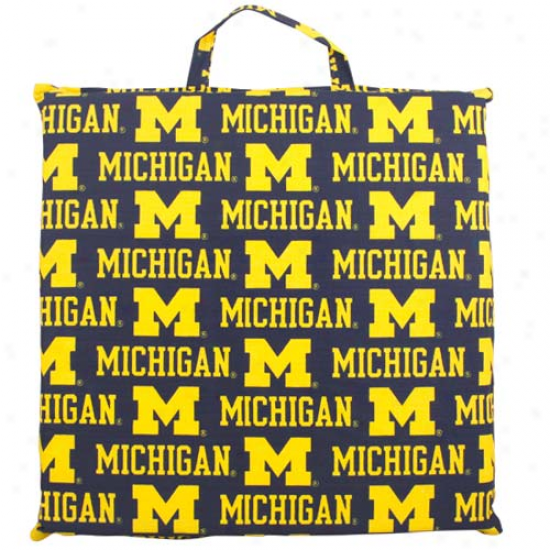 Michigan Wolverines Game Day Cushion