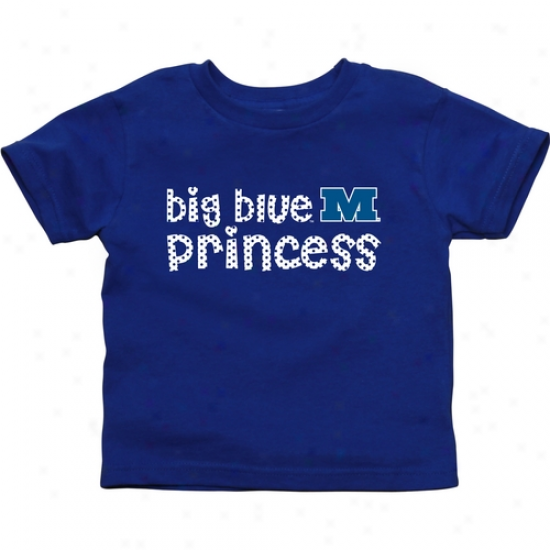 Millikin Big Blue Infant Princess T-shirt - Royal Blue
