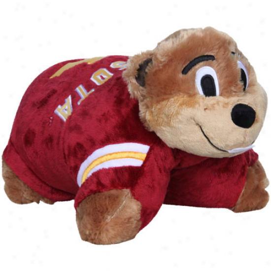 Minnesota Golden Gophers Mascot Pillow Pet
