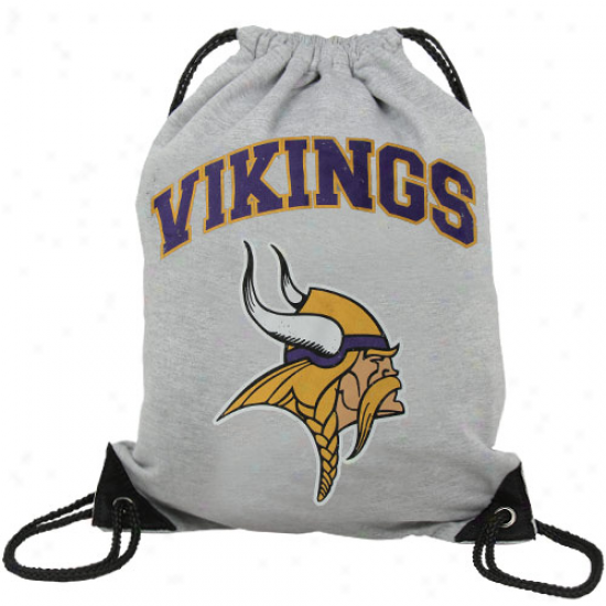 Minnesota Vikings Practice Backsack - Ash