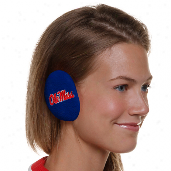Mississippi Rebels Bandless Fleece Ear Warmers