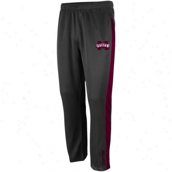 Mississippi State Bulldogs Charcoal Rival Pants