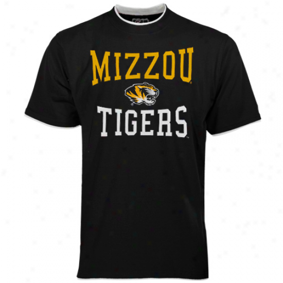 Missouri Tigers Youth Negro Double Layer T-shirt