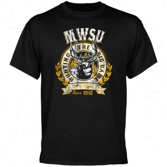 Missouri Western State Griffons The Big Game T-shirt - Black