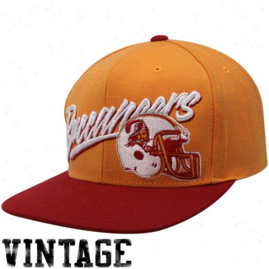 Mitchell & Ness Tampa Bay Buccaneers Orange Glaze-red Vice Snapback Adjustable Hat