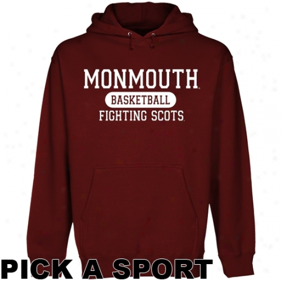Monmouth College Fighting Scots Custom Sport Pullover Hoodie - Red