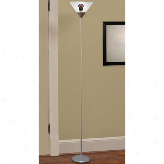Montana Grizzkies Torchiere Floor Lamp