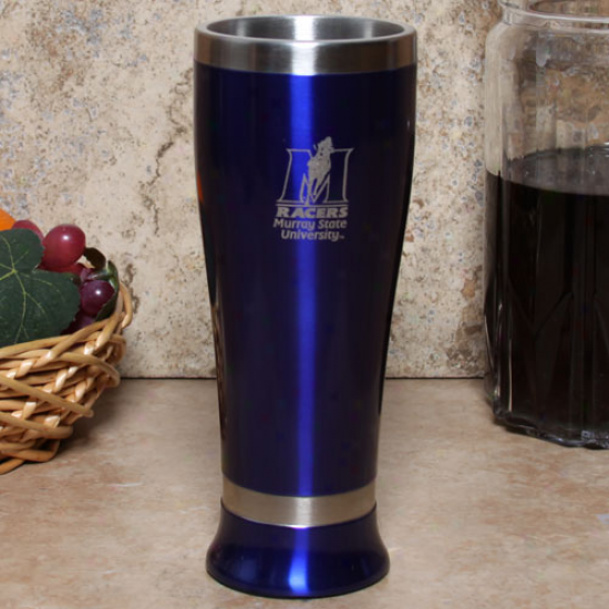 Murray State Racers Royal Blue 16oz. Colored Pilsner Glass