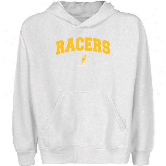 Murray State Racers Young men White Logo Arch Pullover Hoody