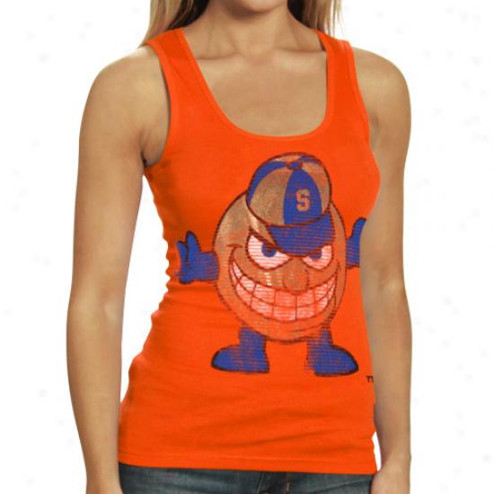 My U Syracuse Orange Ladies Orange Shine On Tank Top