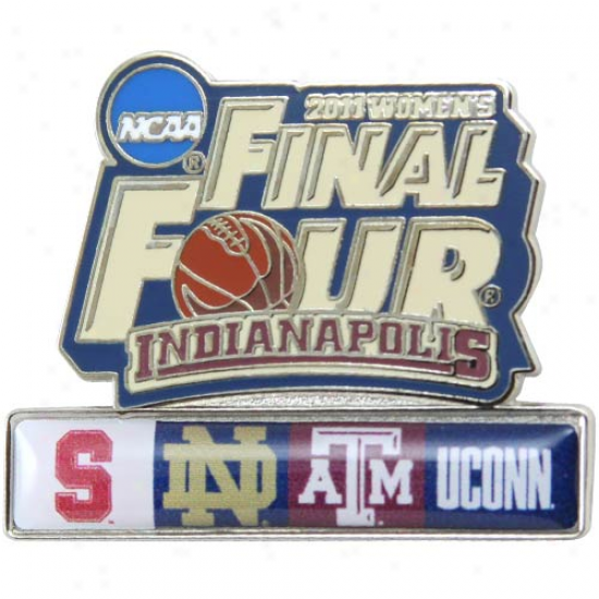 Ncaa 2011 Women's Basketball Tournament Final Four Logo Pin