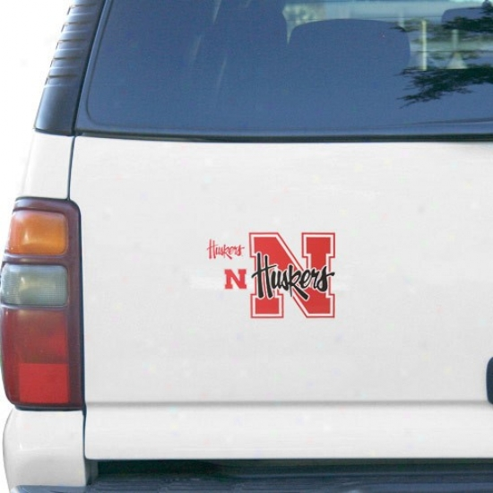 Nebraska Cornhuskers 3-pack Car Magnet Set