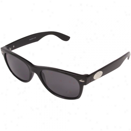 Nebraska Cornhuskers Black-gray Eaton Sunglasses