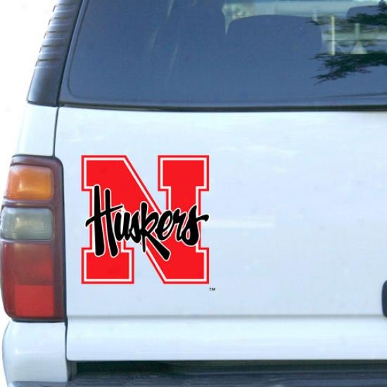 Nebraska Cornhuskers Car Magnet -