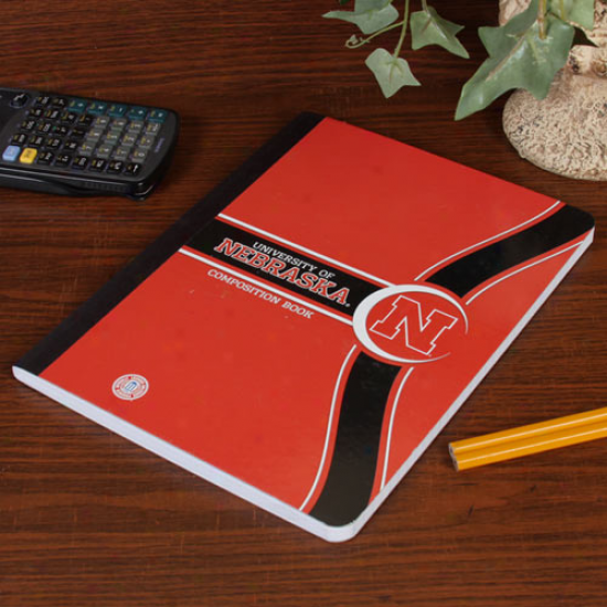 Nebraaka Cornhuskers Composition Book