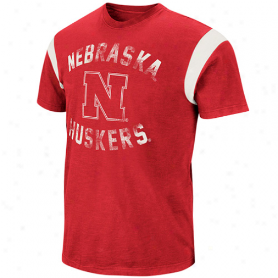 Nebraska Cornhuskers The Wild Shirt - Scarlet