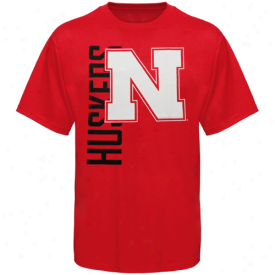 Nebraska Cornhuskers Youth Go Large T-shirt - Scarlet