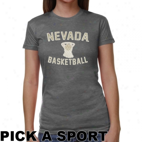 Nevada Wlpf Pack Ladies Legacy Junior's Tri-blend T-shirt - Ash