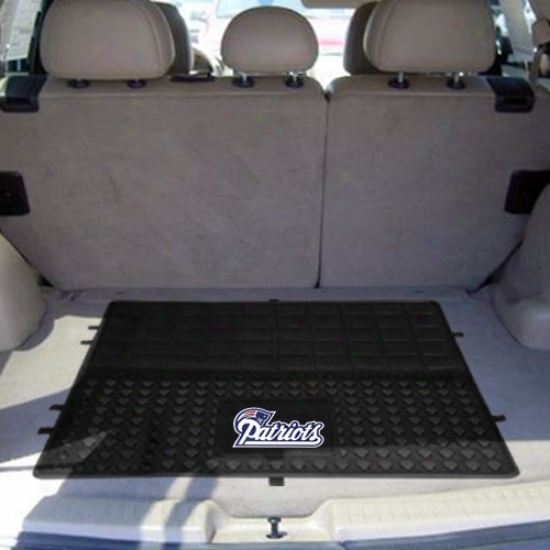 New England Patriots 31'' X 31'' Murky Cargo Mat Car Mat