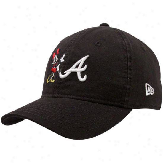 New Era Atlanta Bravse Youth Girls Minnie Essentials Adjustable Hat