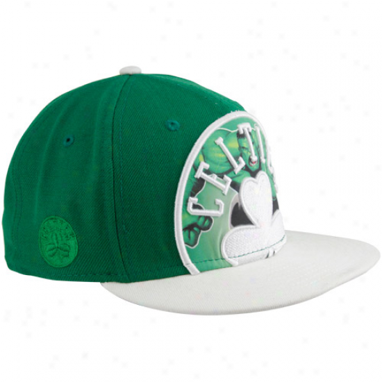 New Point of time Boston Celtics Kelly Green-white Marvel Hulk Big Action 59fifty Fitted Hat