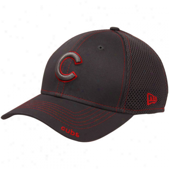 Recent Epoch Chicago Cubs Neo 39thirty Stretch Fit Cardinal's office - Graphite