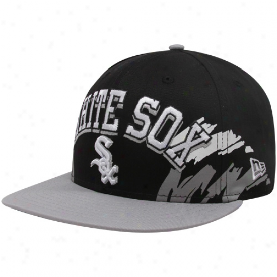 New Era Chicago White Sox Black-wilver Side Snapback 9fifty Adjustsble Cardinal's office