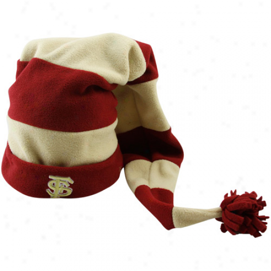New Era Florida State Seminoles (fsu) Preschool Garnet-gold Ten Fold Hat
