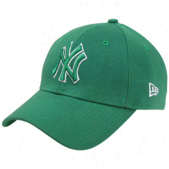 New Era New York Yankees Hooley Flex Hat - Green
