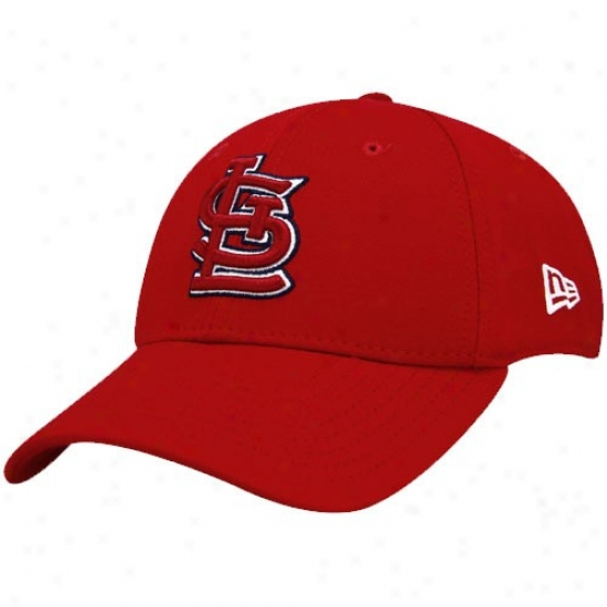 New Era St. Louis Cardinals Red Team Tona l39thirty Fitted Hqt