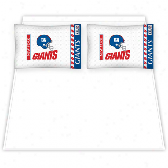 New York Giants Full Size Sheet Set