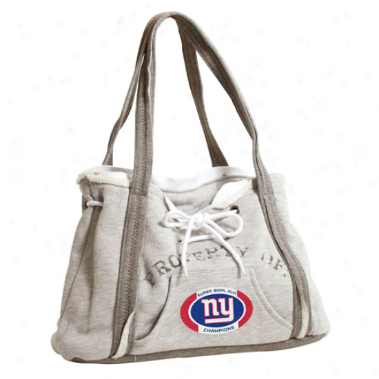 New York Giants Super Bowl Xlvi Champions Ladies Hoodie Purse