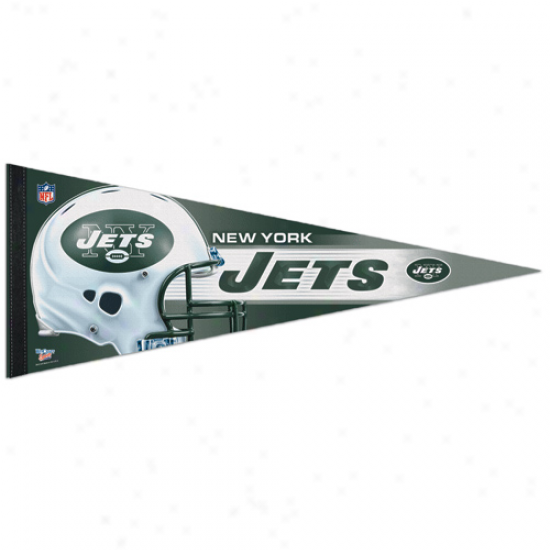 New York Jets 12'' X 30'' Premium Pendant