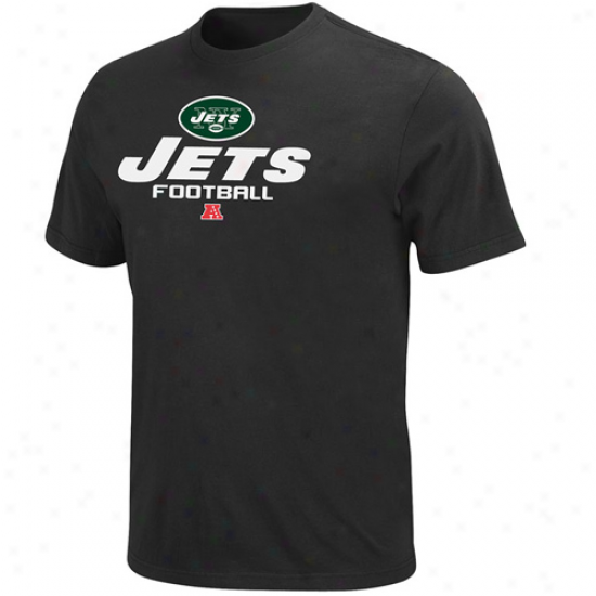 New York Jets Critical Vivtory V T-shirt - Black