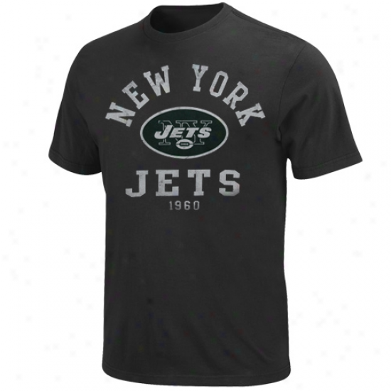 New Yokr Jets Team Two T-shirt - Charcoal