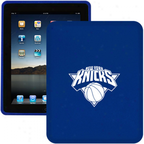New York Knicks Royal Blue Silicone Ipad Case