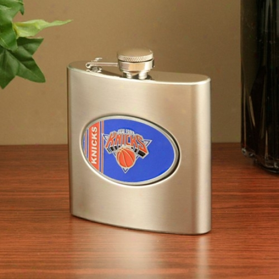 New York Knicks Stainless Steel Flask