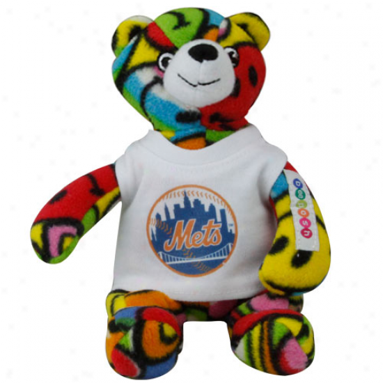 New York Mets 7'' Plush Mandy Bear