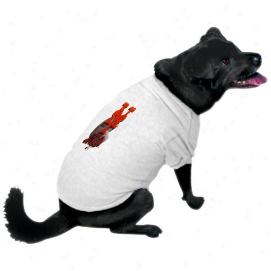 Unaccustomed York Mets Performance Pet T-shirt - White