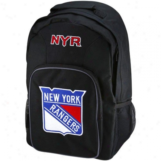 New York Rangers Young men Black Southpaw Backpack