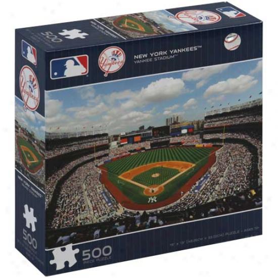 New York Yankees 500-piece Stadium Puzzle