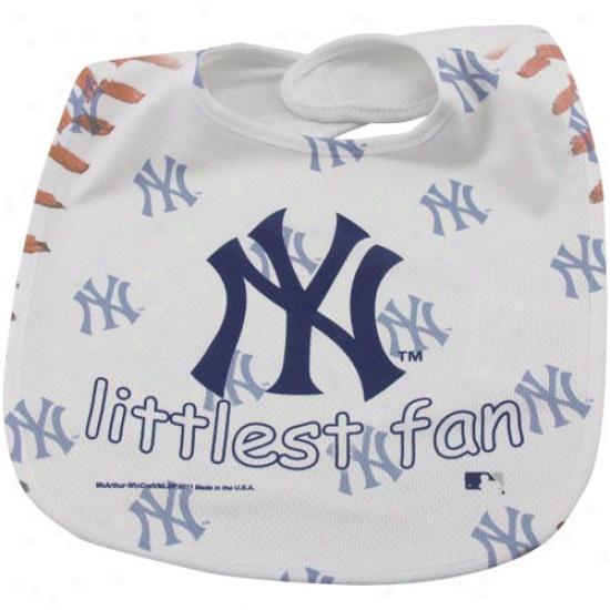 New York Yankees Infant Lttlest Fan Mesh Bib