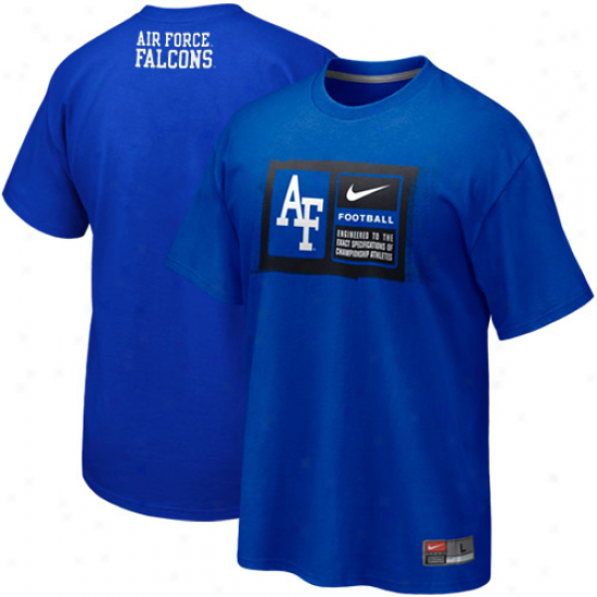 Nike Appearance Force Falcons Team Issue T-shirt - Royal Blue