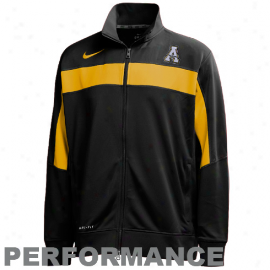 Nike Appalachian State Mountaineerss Murky Swagger Knit Performance Full Zip Jacket
