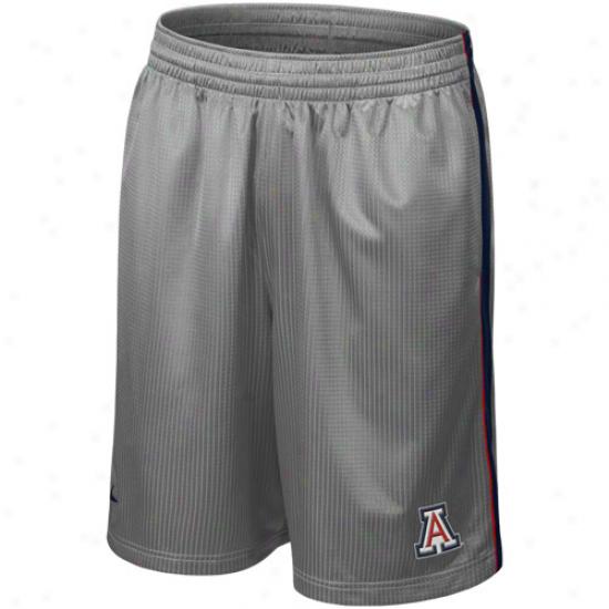 Nike Arizona Wildcats Gray Layup Basketball Shorts