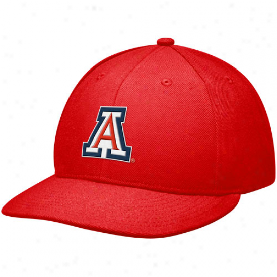Nike Arizona Wildcats True On-fiel Fitted Hat - Red