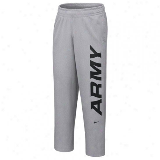 Nike Army Black Knights  Ash Student Body Fleece Pants