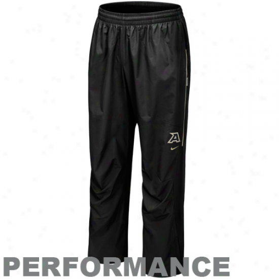 Nike Army Black Knights Black Run Blitz Performance Pants
